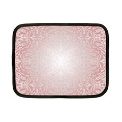Pink Damask Netbook Case (small) by ADIStyle