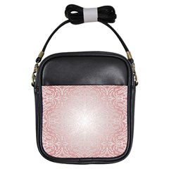 Pink Damask Girl s Sling Bag by ADIStyle
