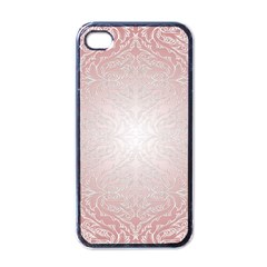 Pink Damask Apple Iphone 4 Case (black) by ADIStyle