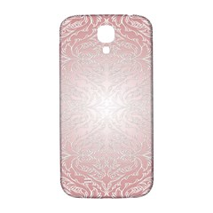 Pink Damask Samsung Galaxy S4 Hardshell Back Case by ADIStyle