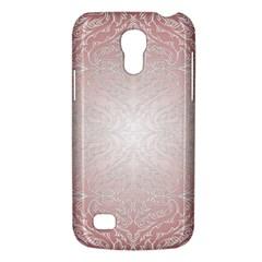 Pink Damask Samsung Galaxy S4 Mini Hardshell Case  by ADIStyle
