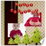 merry christmas - Canvas 20  x 20
