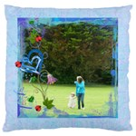Dandelion Dreams Large Cushion Single Side - Large Cushion Case (One Side)