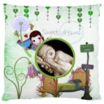 Sweet Dreams  Large Cushion Single Side - Large Cushion Case (One Side)