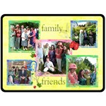 Family & Friends Extra Large Fleece Blanket - Fleece Blanket (Large)