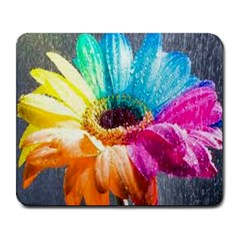 colorful flower Large Mouse Pad (Rectangle) by Contest1650520