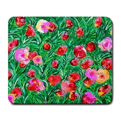 Flower Dreams Large Mouse Pad (rectangle)