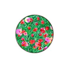 Flower Dreams Golf Ball Marker (for Hat Clip) by dawnsebaughinc