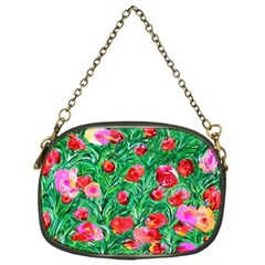 Flower Dreams Chain Purse (one Side)
