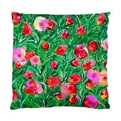 Flower Dreams Cushion Case (one Side) by dawnsebaughinc