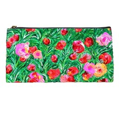 Flower Dreams Pencil Case by dawnsebaughinc