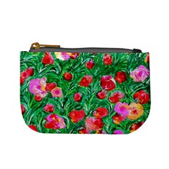 Flower Dreams Coin Change Purse