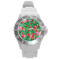 Flower Dreams Plastic Sport Watch (large)