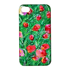 Flower Dreams Apple Iphone 4/4s Hardshell Case With Stand by dawnsebaughinc