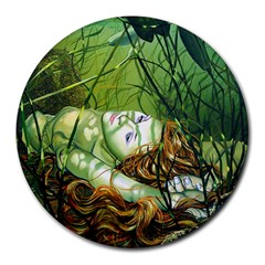 Amber 8  Mouse Pad (round) by Contest1699937