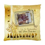 Day to Remember gold love Wedding 1 cushion case - Standard Cushion Case (One Side)
