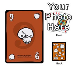 Monsters Deck A By Jim Chaney   Playing Cards 54 Designs   Dre45c06zg9l   Www Artscow Com Front - Club4