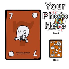 Monsters Deck A By Jim Chaney   Playing Cards 54 Designs   Dre45c06zg9l   Www Artscow Com Front - Club6