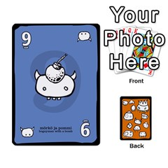 Monsters Deck B By Jim Chaney   Playing Cards 54 Designs   6jxml0p23oo6   Www Artscow Com Front - Spade3