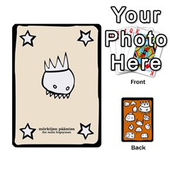 Monsters Deck B By Jim Chaney   Playing Cards 54 Designs   6jxml0p23oo6   Www Artscow Com Front - Club3