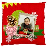 christmas - Large Cushion Case (One Side)