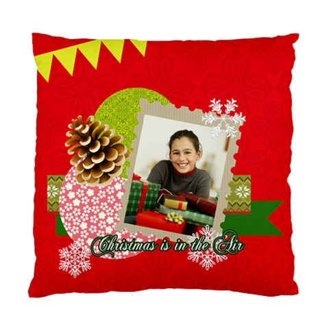 Christmas By Merry Christmas   Standard Cushion Case (one Side)   6vvpvscspq7m   Www Artscow Com Front