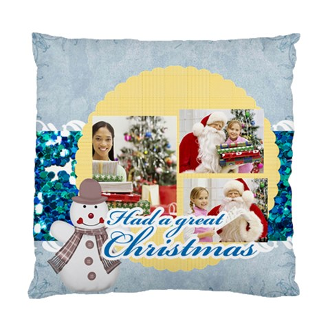 Christmas By Merry Christmas   Standard Cushion Case (one Side)   59bcwakxils2   Www Artscow Com Front