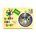 Happy New Year place mat - Plate Mat