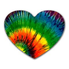 Tyedye Dreams Mouse Pad (heart)