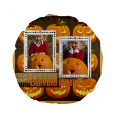 Helloween By Helloween   Standard 15  Premium Round Cushion    Acgmo0ic73h1   Www Artscow Com Front