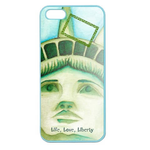 Iphone Liberty By Charity   Apple Seamless Iphone 5 Case (color)   Owseie2cspj8   Www Artscow Com Front