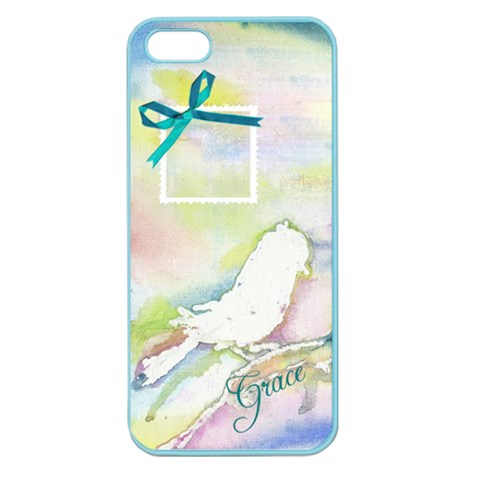Iphone Bird By Charity   Apple Seamless Iphone 5 Case (color)   Hwa0pw29z4xg   Www Artscow Com Front