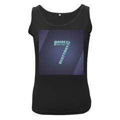 Seven Women s Black Tank Top