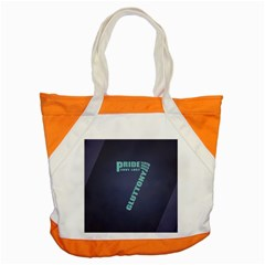 Seven Accent Tote Bag by Rasterize