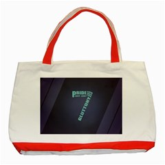 Seven Classic Tote Bag (red) by Rasterize