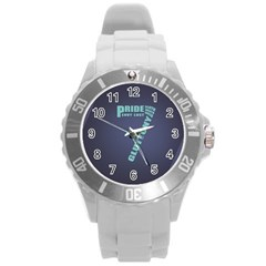 Seven Round Plastic Sport Watch Large by Rasterize