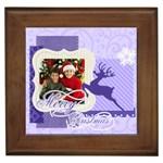 christmas - Framed Tile