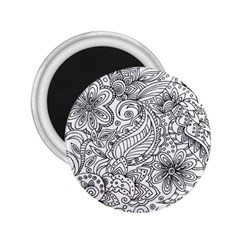Scrolly 2.25  Button Magnet by Contest1702305