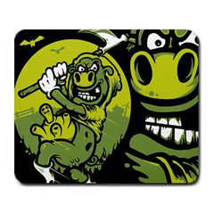 Cow By Night Large Mouse Pad (rectangle) by Contest1702612