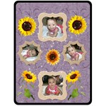 sunflower blanket - Fleece Blanket (Extra Large)