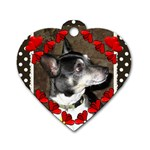 handsome - Dog Tag Heart (Two Sides)