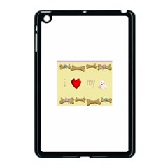 I Love My Dog! Ii Apple Ipad Mini Case (black) by mysticalimages