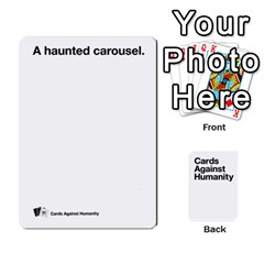 Cah White Deck 4 By Steven   Playing Cards 54 Designs   Rcchr31p597k   Www Artscow Com Front - Club5