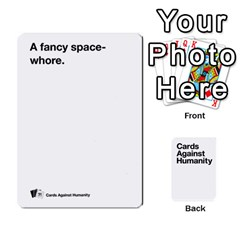 Cah White Deck 4 By Steven   Playing Cards 54 Designs   Rcchr31p597k   Www Artscow Com Front - Club10