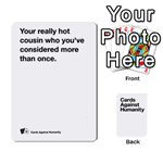 CaH White Cards 6 - Playing Cards 54 Designs