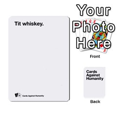 Cah White Cards 6 By Steven   Playing Cards 54 Designs   Aqs8dow35hir   Www Artscow Com Front - Heart3