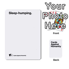 Cah White Cards 6 By Steven   Playing Cards 54 Designs   Aqs8dow35hir   Www Artscow Com Front - Diamond5