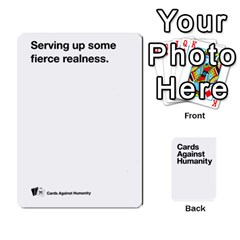 Cah White Cards 6 By Steven   Playing Cards 54 Designs   Aqs8dow35hir   Www Artscow Com Front - Club2