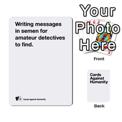 Cah White Cards 6 By Steven   Playing Cards 54 Designs   Aqs8dow35hir   Www Artscow Com Front - Spade6