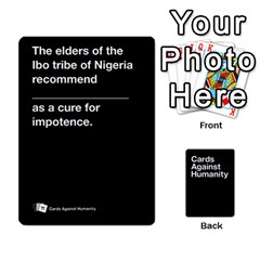 Cah Black Cards 4 By Steven   Playing Cards 54 Designs   Unzct31u0jse   Www Artscow Com Front - Heart4